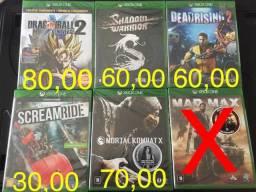 Jogos Xbox novos a partir 30,00