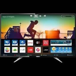 "Smart TV Led 43"" Philips 43PUG6102/78 Ultra HD 4k com Conversor Digital 4 HDMI 2 USB Wi-Fi"