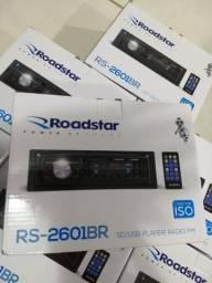 Rádio fm-mp3- usb-cartao sd e entrada aux