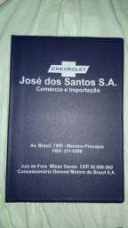 Capa manual concessionária GM Juiz de Fora.