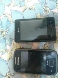 Vendo 2 celulares para retirada de peças