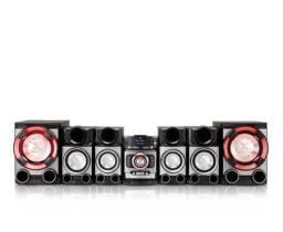 Som Lg 1.700w com 6 caixas (Rádio com Defeito)
