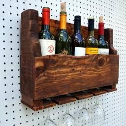 Adega Rack para Bebidas - Artesanal e Rústica