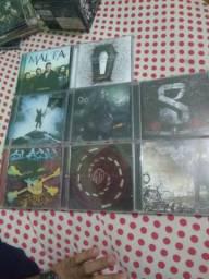 Lote 7 CDs Metal
