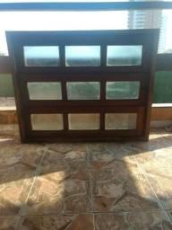 Vitro de cozinha basculante de madeira 1,00x80