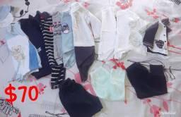 Lote roupa menino 14 peças