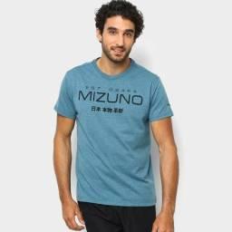 Título do anúncio: Camiseta Mizuno Masculina - Verde e Preto Nova,original com nota fiscal e todas etiquetas