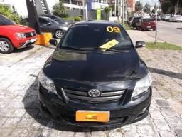 Toyota Corolla xei 1.8 flex automatico financio até 100% e troco - 2009