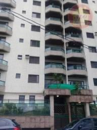 Apartamento com 3 dormitórios para alugar, 119 m² por R$ 2.700,00/mês - Canto do Forte - P