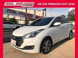 Hyundai HB20S  1.6 Premium Automatico - 2016