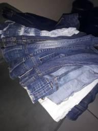 Bermudas jeans feminina tamanho 42