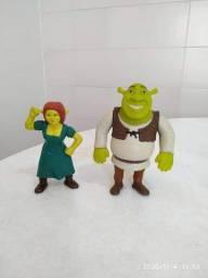 Bonecos Sherek e Fiona