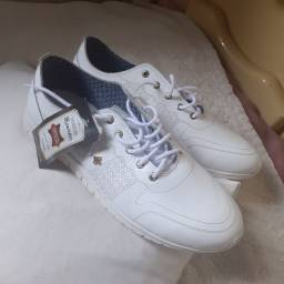 Tenis feminino branco Perlatto