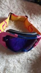 Óculos motocross fox