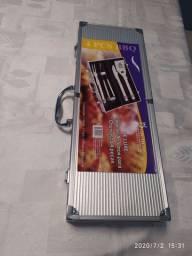 Kit para Churrasco com 5 peças Grill