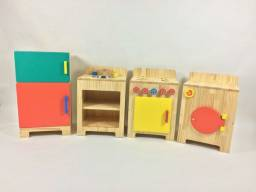 Armário kit infatil de madeira