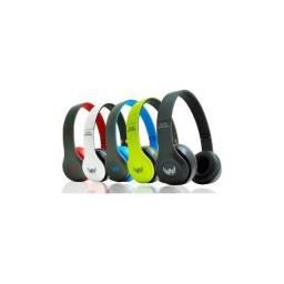 Fone Bluetooth Entrada Cartão Micro Sd E Cabo P2 Completo