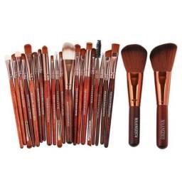 Kit com 22 Pinceis Maquiagem Excelente Qualidade