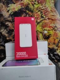 Bateria Externa de 20000 Da Xiaomi Novo Lacrado com Garantia