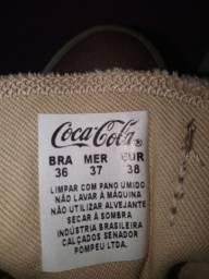 Sapato Coca Cola Feminino valor: 80.00