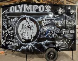 Trailer de lanches Food truck