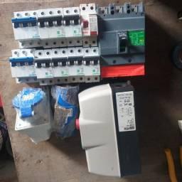 material elétricos, marca Schinerder