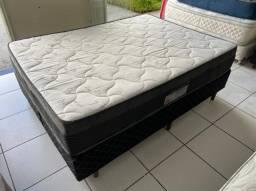 cama box casal - Ortobom d60 - entregamos