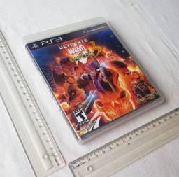 Caixinha Manual e Encartes Originais PS3 - Ultimate Marvel Vs Capcom - Não Tenho O Cd