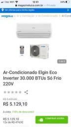 Ar condicionado inverter QF 30000 Btu/h