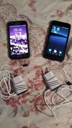 celulares.. J5 e K9.. semi-novos.. R$300 cada. leia a descrição