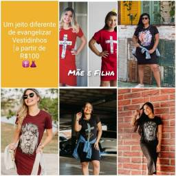 Vestidos moda  cristã