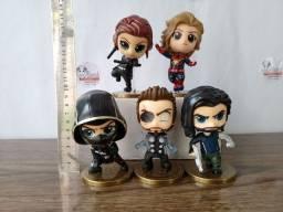 Miniaturas Vingadores *Valor da unidade