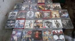Jogos de PS3 semi novos