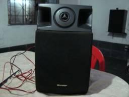 Caixa acústica Sharp