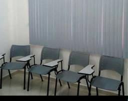 8 Carteiras, cadeiras de colégio, escola, curso...