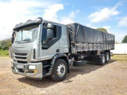 Iveco Tector 240E25S 6X2 2012 Truck Com Carroceria Graneleira