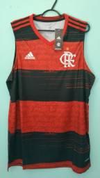 Camiseta do Flamengo Rubro Negra Masculina 2020