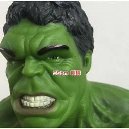 Título do anúncio: Gigante Verde Hulk Avengers 55 Cm Pronta Entrega