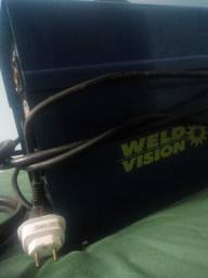 Máquina de solda mig weld vision