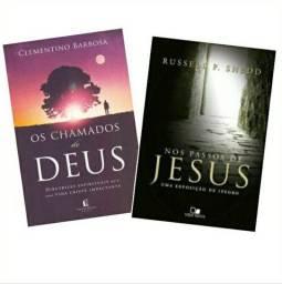 Livro Chamado de Deus e Nos passos de Jesus
