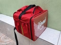 Título do anúncio: (bag) Mochila p/ entregador/motoboy Pizza Nova !