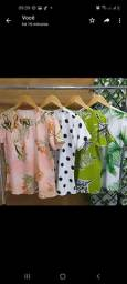 Conjuntos Viscose kimono