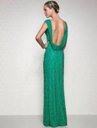 Título do anúncio: Vestido de Festa Verde Arte Sacra