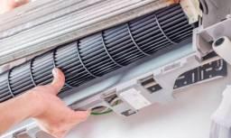 Manutenção/instalação em sistema de climatização
