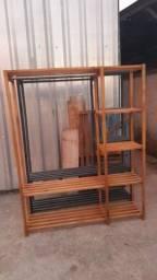 Closet em madeira pinus