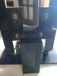 6 caixas de som aparelho home samsung