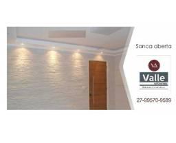 Gesso - Sanca, Molduras, Cortineiro, Divisórias, Painel 3D - (27) 99570-9589