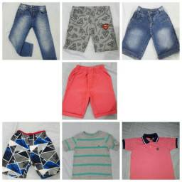 Lote roupa infantil masculino