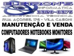 Computadores, Notebooks e Monitores