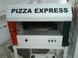 Máquina de pizza expressa.